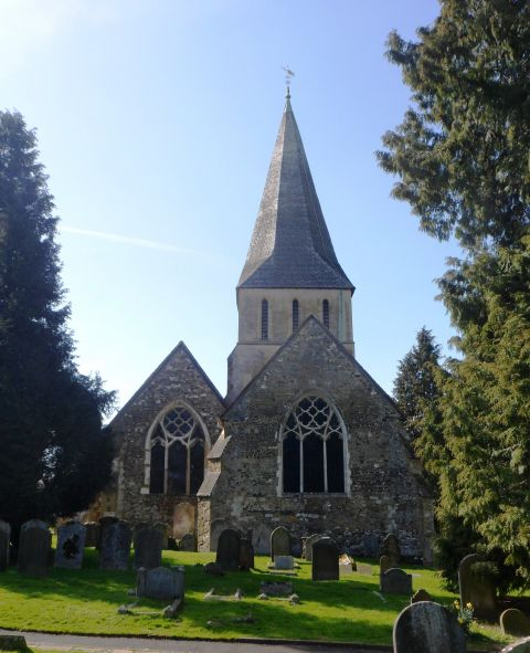 St James' Church, Shere