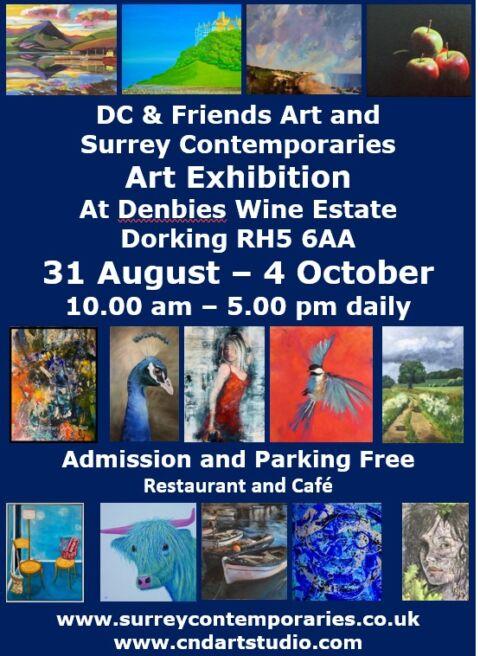 Art Exhibition - DC & Friends Art and Surrey Contemporaries
